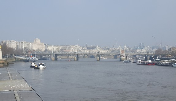 The view from Westmintser Bridge